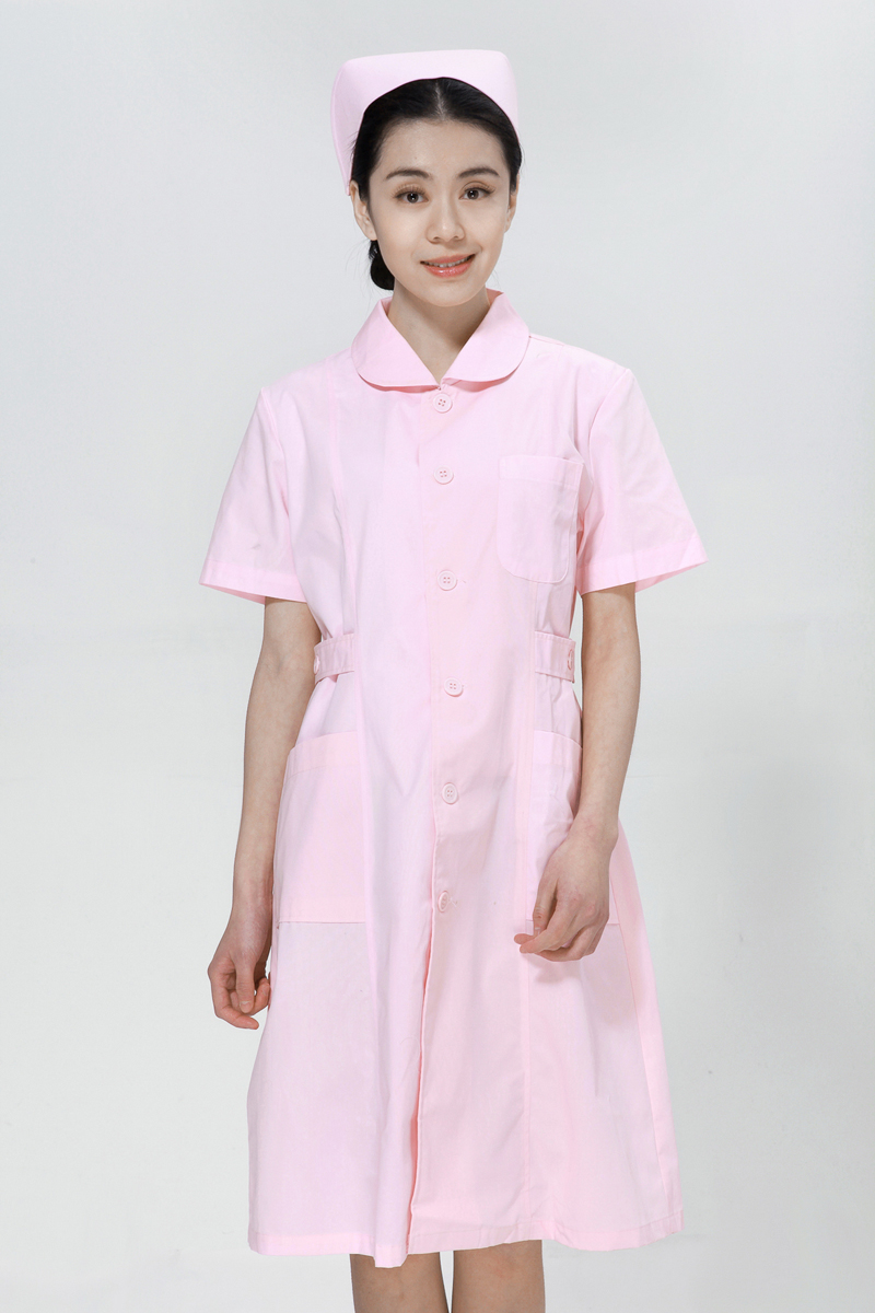 Powder nurse suit summer doll collar