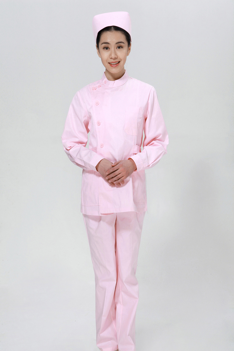 The pink suit Adidas right side opening collar - copy